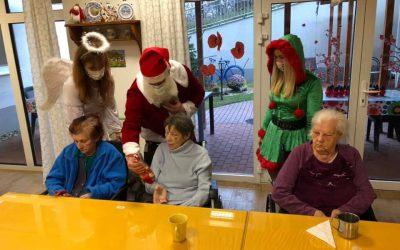 Navštívil nás Mikuláš spolu s čertom, anjelom a elfom